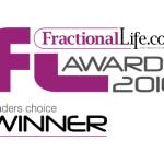 Fractional Life Readers Choice Award