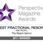 Perspective Magazine Awards Best Fractional Resort