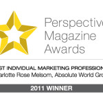 Perspective Magazine Awards Best Marketing Professional